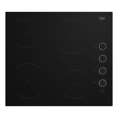Beko CIHYV21B 58cm Ceramic Induction Hob - Black
