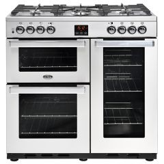 Belling COOKCENTRE 90DFT PRO Stainless Steel