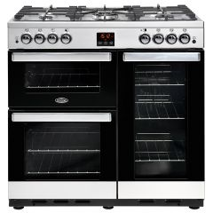 Belling COOKCENTRE 90G Stainless Steel