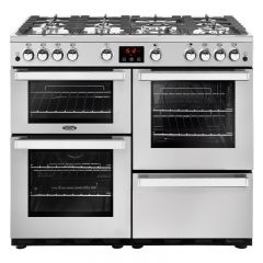 Belling COOKCENTRE 100G PROF Stainless Steel