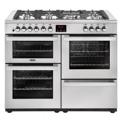 Belling COOKCENTRE 110DFT PRO Stainless Steel