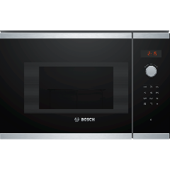 Bosch BFL523MS0B 20L 800W Built In Microwave