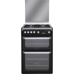 Hotpoint HUG61K 60cm Gas Double Oven Cooker
