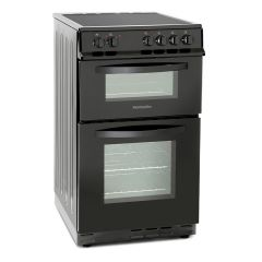 Montpellier MDC500FK 50cm Double Oven Ceramic Cooker