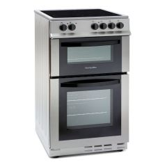 Montpellier MDC500FS 50cm Double Oven Ceramic Cooker