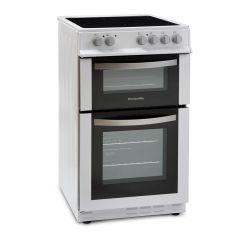 Montpellier MDC500FW 50cm Double Oven Ceramic Cooker