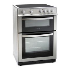 Montpellier MDC600FS 60cm Double Oven Ceramic Cooker