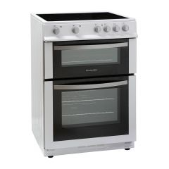 Montpellier MDC600FW 60cm Electric Double Oven Cooker w/ Ceramic