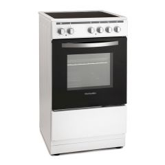 Montpellier MSC50W 50cm Electric Single Oven Ceramic Cooker