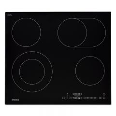 Stoves 444410185 SEH602SCTC 60cm Ceramic Hob w/ Stainless Steel Trim