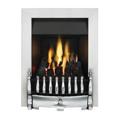 Valor Fires 05956D6 BLENHEIM SLIMLINE Chrome