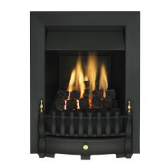 Valor Fires 05956D7 BLENHEIM SLIMLINE Black